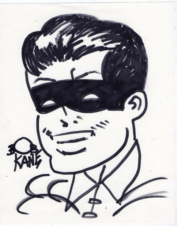 Bob Kane Drawing 'Robin' – Authentic – 1940