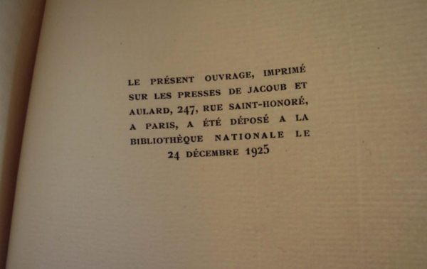 - Charles Baudelaire 'Amoenitates Belgicae' - Manuscrit Inédit - Paris 1925 J.Fort