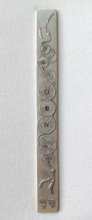 China Qing Dynasty Silver Bar From Dowry