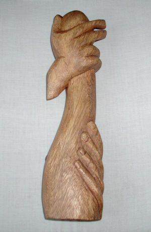 Henri Laurens Sculpture 'Étreinte Passionnée'