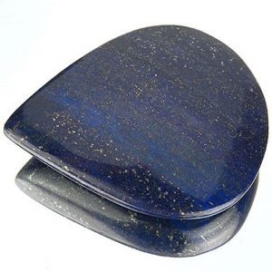 1980ct Lapis Lazuli Cabochon – Pear Shape – India