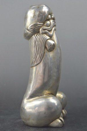 Phallic Symbol – China .580 Miao Silver Handmade