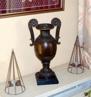 Jugendstil (Art Nouveau) Large Bronze Amphora