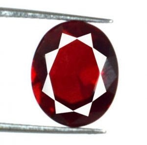 Certified Natural Red Ruby 3,45 CT