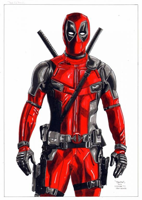 Deadpool by Diego Mendes