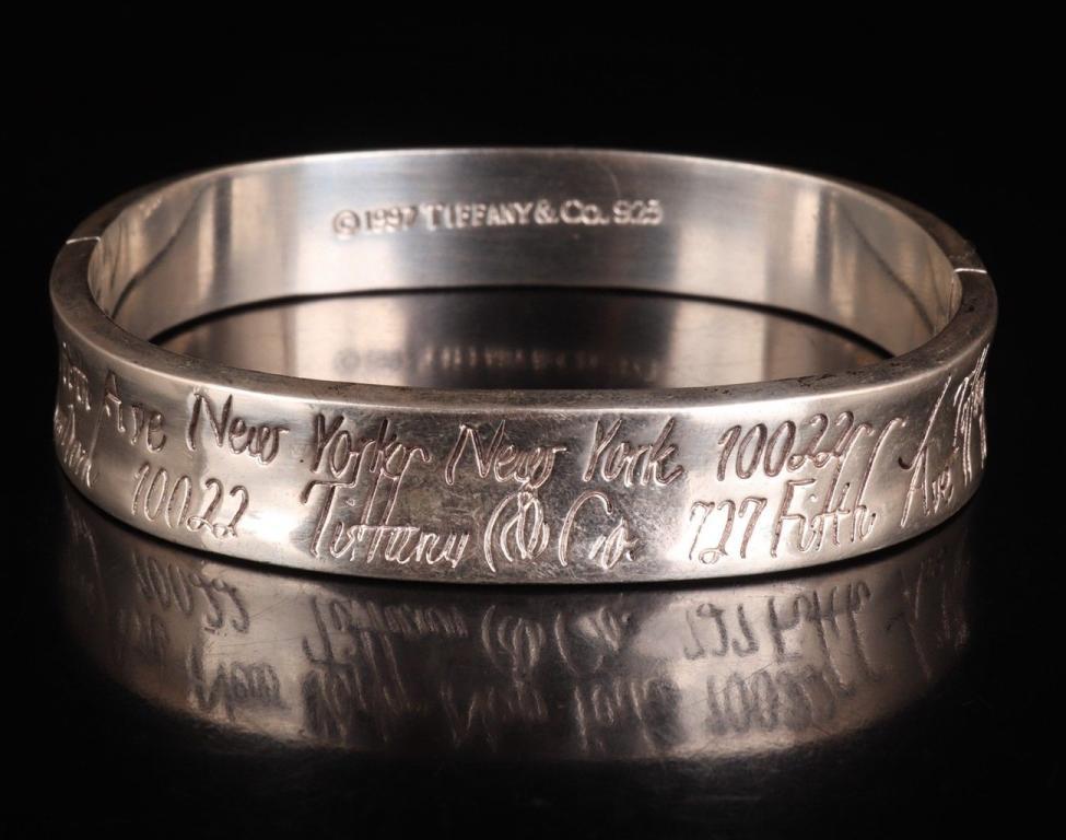 Tiffany & Co Bracelet/Bangle .925 Sterling Silver