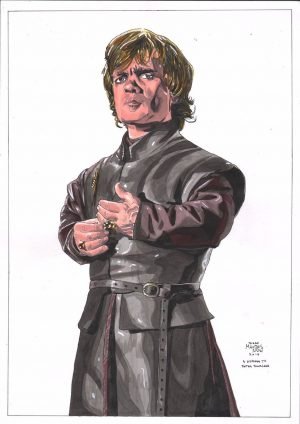 Tyrion Lannister 'Game of Thrones' by Diego Mendez