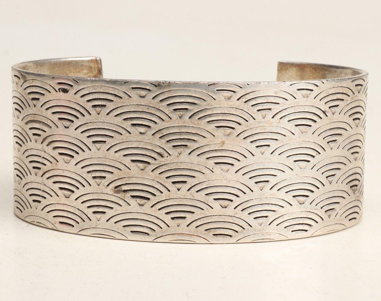 1997 Tiffany & Co bracelet/bangle .925 Sterling Silver