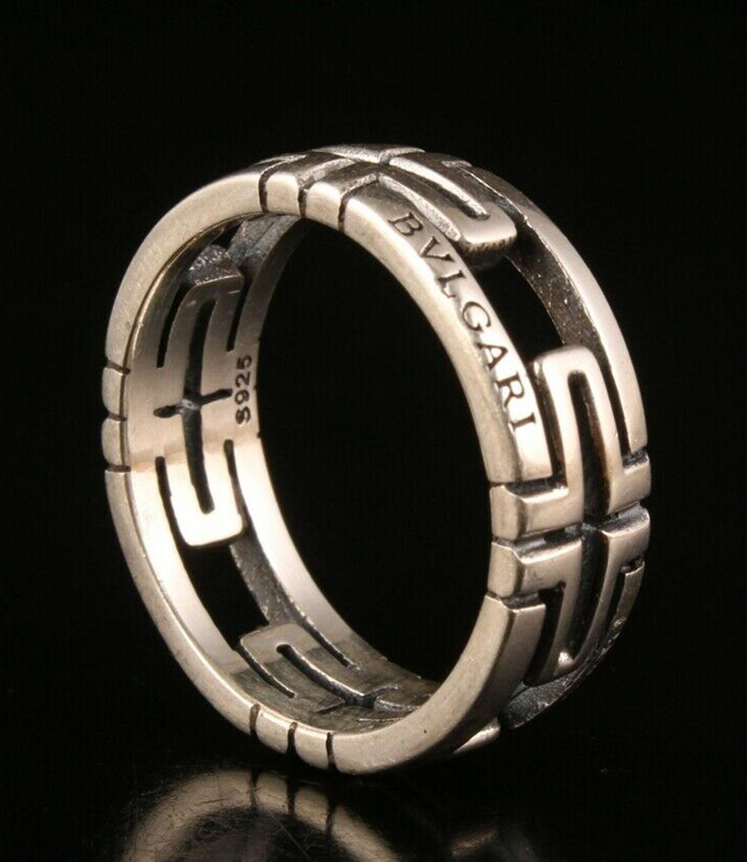 Bvlgari .925 Silver Ring