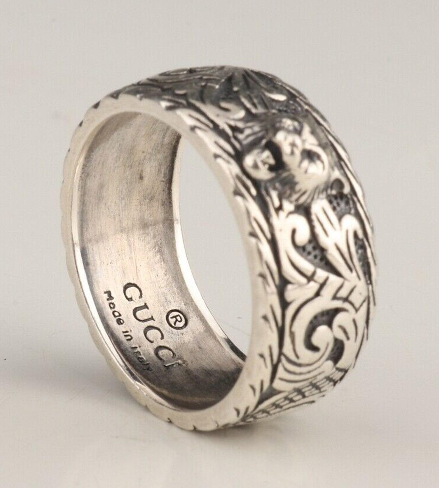 Gucci .925 Silver Ring