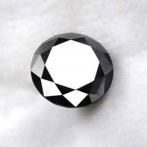 Carbon Black Natural Diamond 0.78 ct