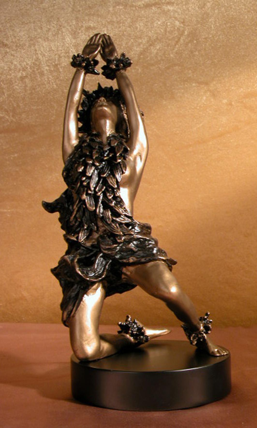 Art Nouveau Bronze Allegorical 'Dancer in the Woods'