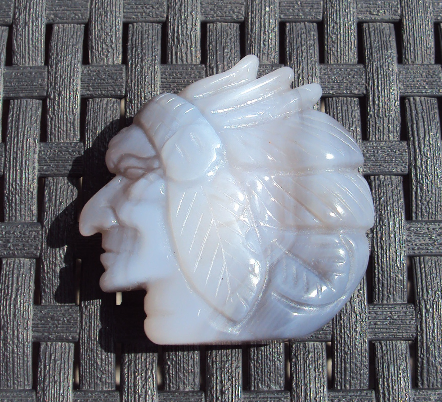Handcrafted Indian Chief's Head