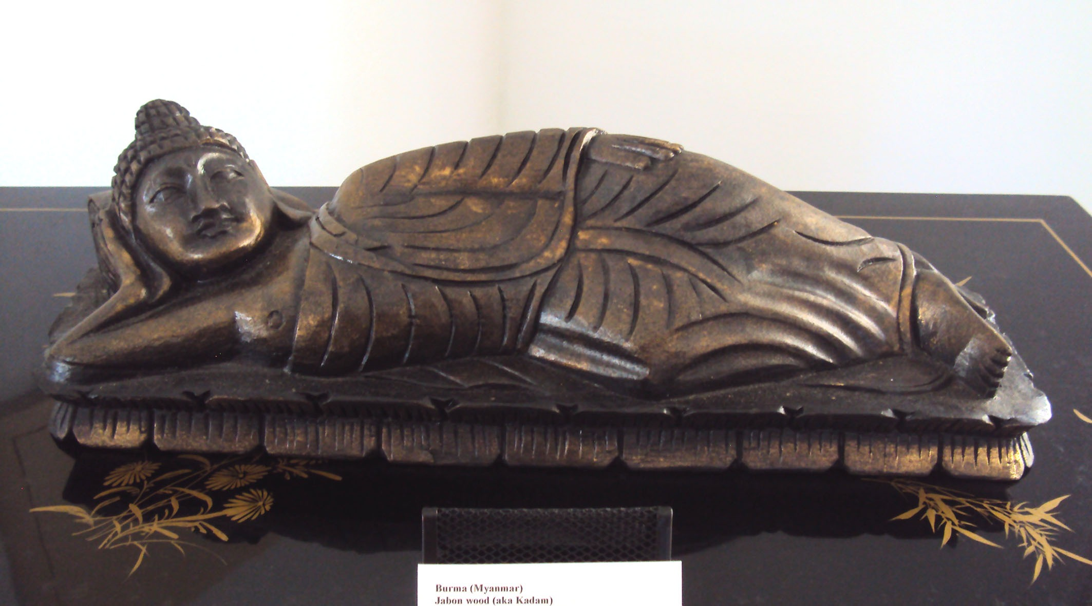 Lying Buddha Hand Carved Statue
