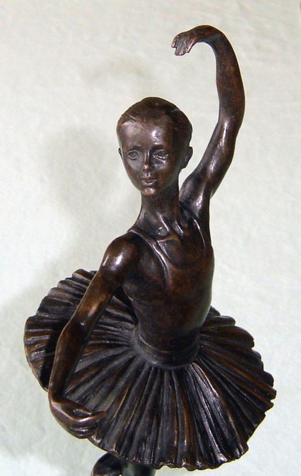 Art Deco Bronze Signed Masier