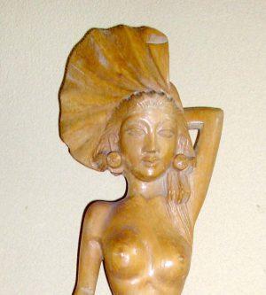Dancing Nude Lady Sculpture