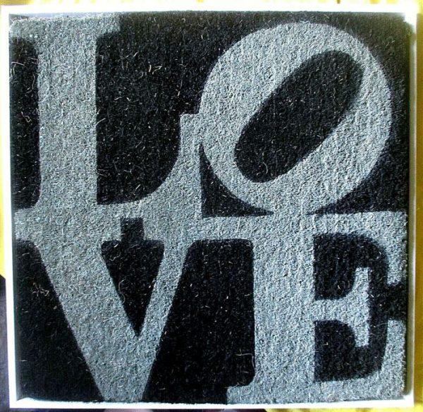 Robert Indiana Winter Love 2006