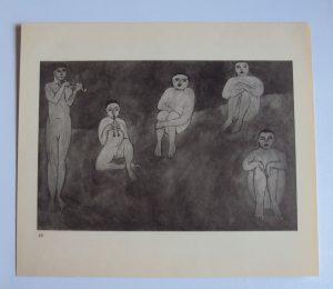 Henri Matisse Monochrome Lithograph