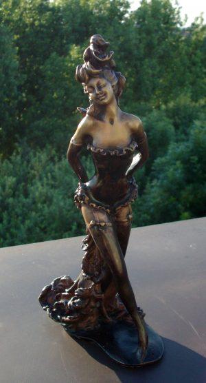 Art Nouveau Bronze 'Danseuse Moulin Rouge'