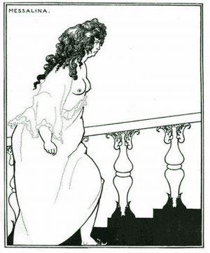 Aubrey Beardsley 1899 Lithograph