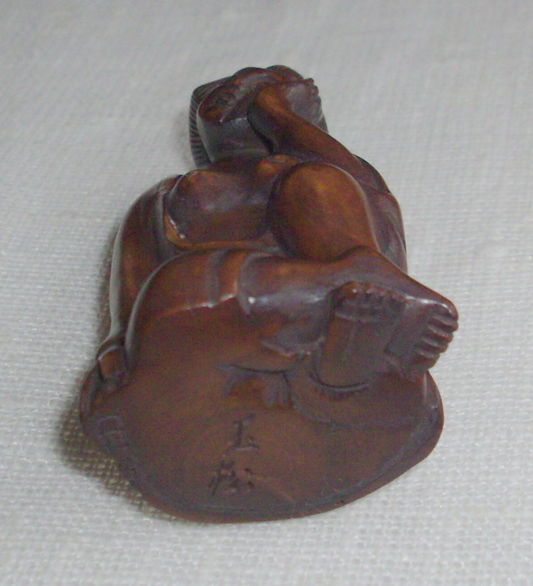 Antique Shunga Netsuke in Boxwood
