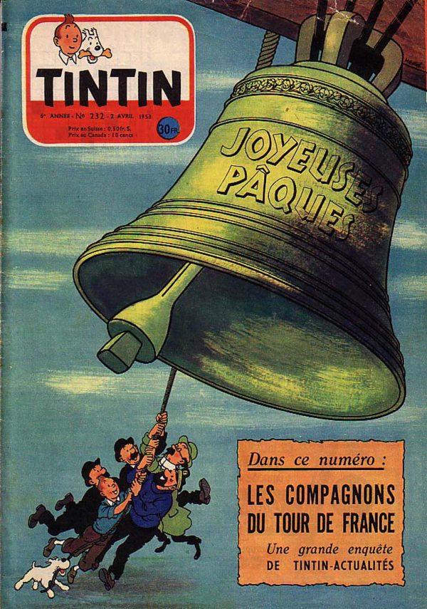 Tintin / Hergé Original Easter Printing Foil