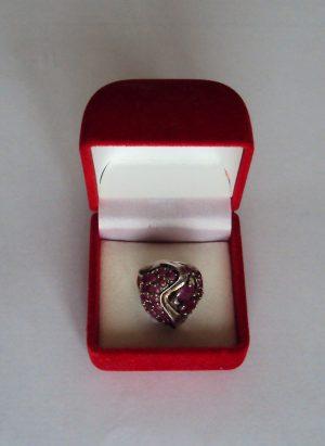 Vintage Sterling Silver Designer Ring