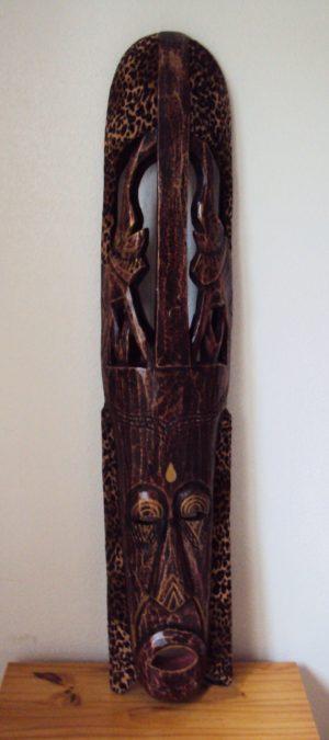Ghana Late 19th Century Tribal Mask