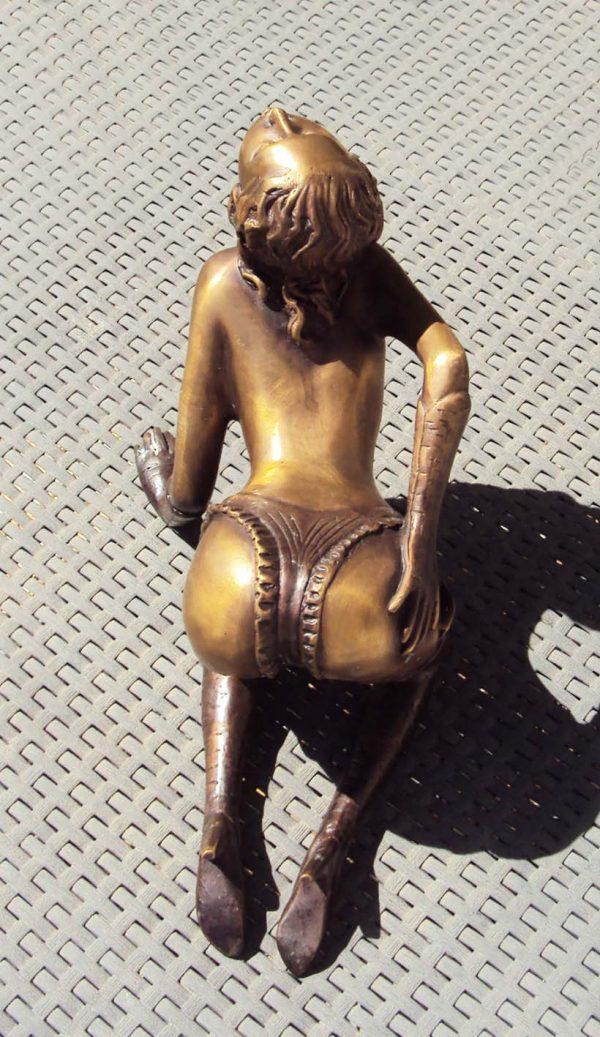 Contemporary Bronze Statue Approx. 1970