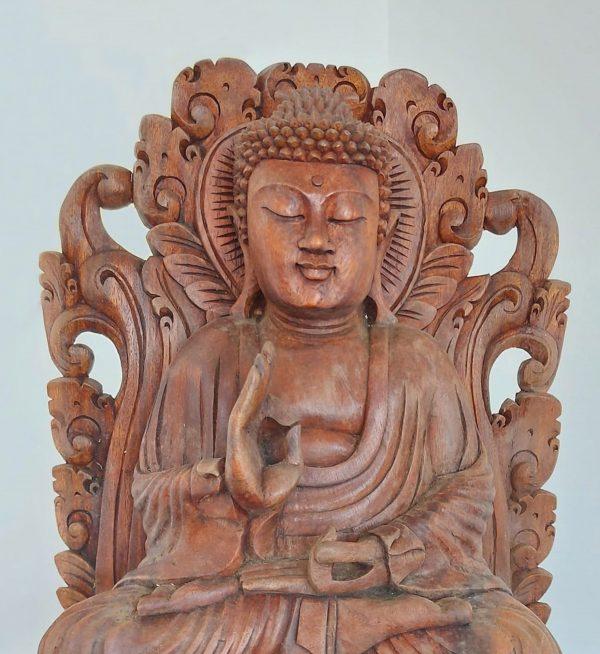 Seated Buddha Statue in Oakwood – End 19th C